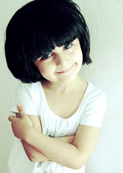 超萌小女孩发型设计图片 小萝莉短发魅力没法挡图片