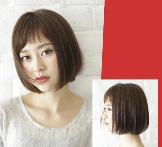 短发发型图片2017女 夏季的图片