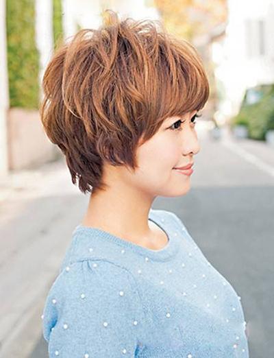 头发少适合什么发型 推荐几款发型扬长避短图片