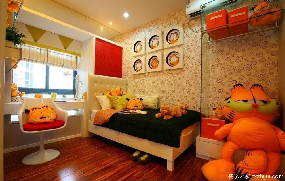 美式风格开放式厨房吧台装修效果图_装修之家装修效果图