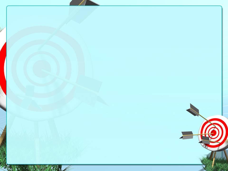 箭头击中目标靶心商务ppt模板下载图片