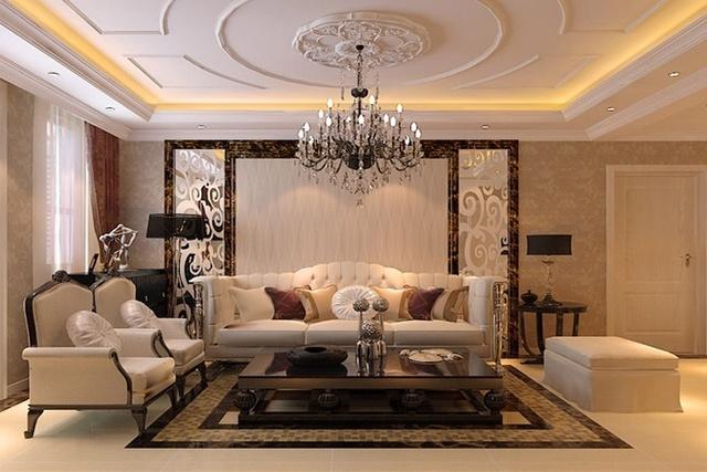 现代欧式风格奢华设计作品欣赏图片