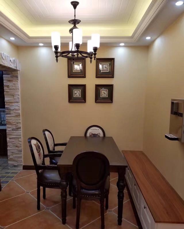美式风格漂亮的家装图与家具的完美结合图片