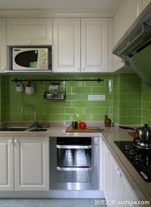 家装整体厨房橱柜效果图_装修之家装修效果图图片