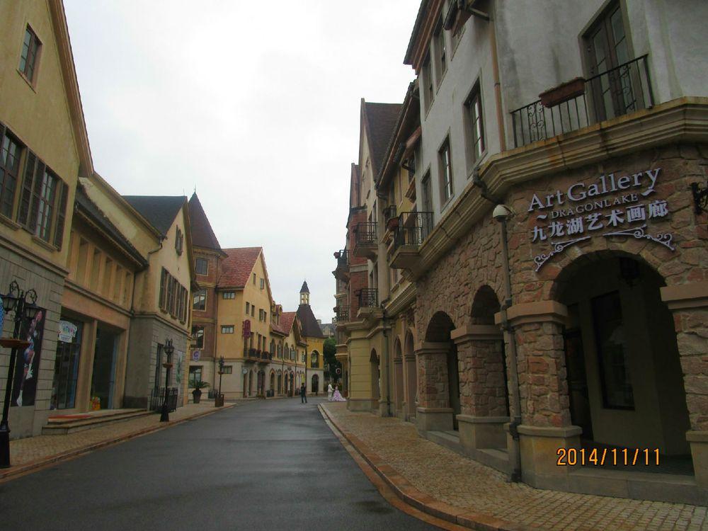 婚纱摄影地之欧洲小镇图片