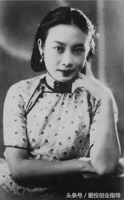 中国嘉宝,上海滩电影皇后,她是真正乱世佳人-百家号迷上看电影图片
