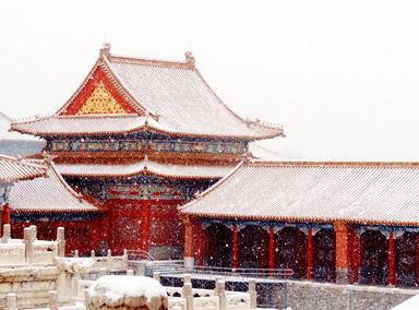 北京喜提今冬第二场雪