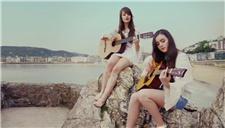 Sarah & Julia《Something Wonderful》海边吉他弹奏