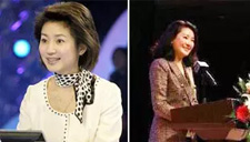 50岁王小丫演讲近照曝光