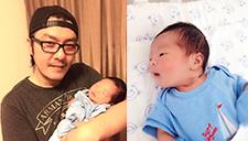阿杜喜获超可爱小杜杜 新手老爸陪妻儿睡医院