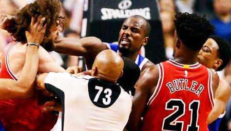 NBA的硬汉文化 他们不想打架只想看你是不是软蛋
