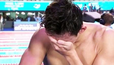 孙杨800自第五痛失四连冠