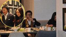 李云迪与女友用餐 西式餐厅情调优雅