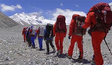 2020珠峰高程测量队返回西安