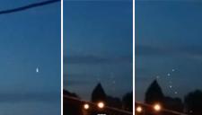 路人拍到神奇UFO视频 母体分裂成6个光球http