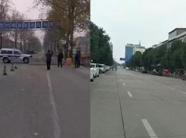 河南郏县下令再度封村封路