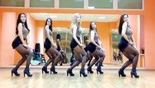外国性感美眉热舞AOA劲单短裙舞《Miniskirt》