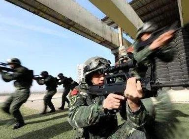 武警部队超燃战场你心动了吗