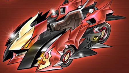 【QQ飞车】超稀有A级赛车闪电龙测评