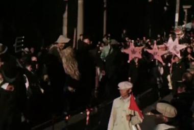 独家!毛主席开国大典珍贵高清彩色录像