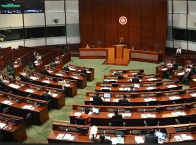 为香港立法很有迫切性