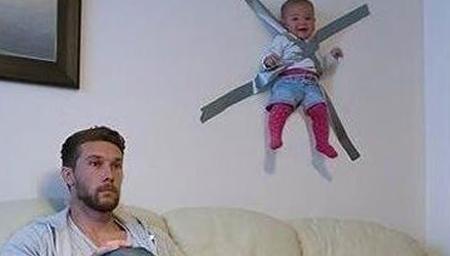 和孩子一起玩的爸爸都这么奇葩