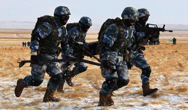 中國海軍5大兵種之海軍陸戰隊