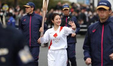 东京奥运圣火观赏限时30秒