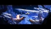 原画教程——雪山场景绘制