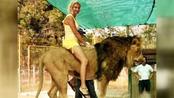 【笑弹计划72】美女奇葩坐骑出行 骑老虎才是真霸气