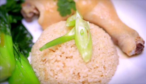 营养美味的海南鸡饭,健健康康迎鸡年!