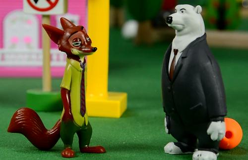 尼克的好朋友,疯狂动物城,阿紫玩具