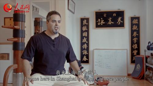白麒柏 :传授咏春拳的意大利师傅