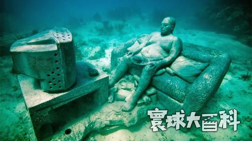 水下沉思者!世界各地的海底,有一群不会说话的环保主义者【寰球大百科343】