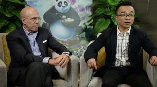 功夫熊猫3 独家专访杰弗里·卡森伯格 许诚毅2