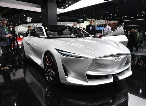 英菲尼迪Q Inspiration惊艳登场北京车展 量产版竞争奔驰S级和雷克萨斯LS