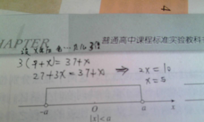 小学还没学方程式图片
