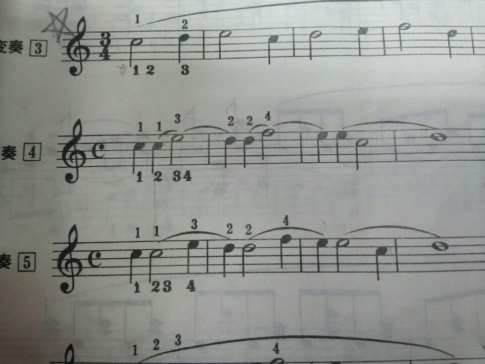 关于拜厄钢琴基本教程里的变奏搞不太懂图片