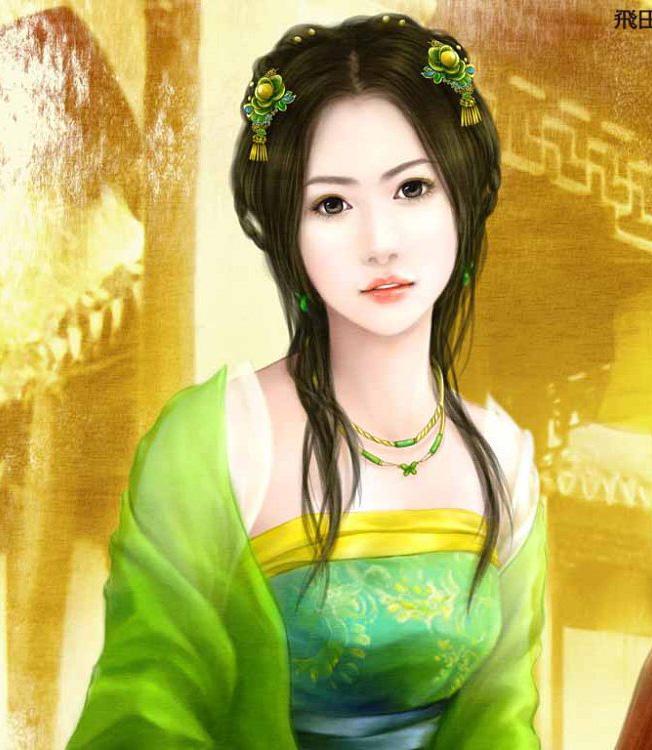 谁有古代美女西施的照片