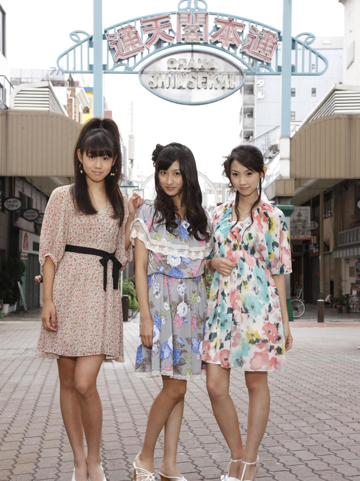 请问这个日本三人女子组合叫什么