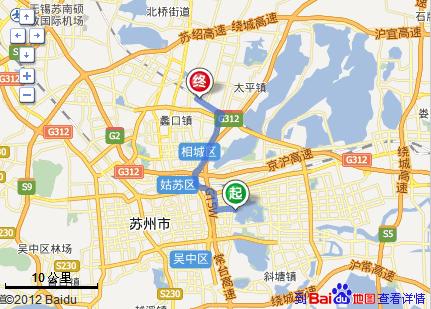 苏州高铁站到金鸡湖