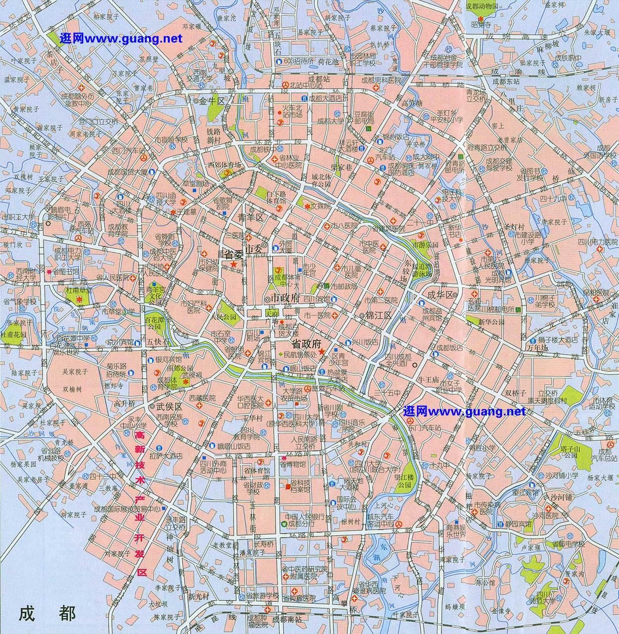 成都市地图全图高清版 成都市地图全图 成都市地图全图大图