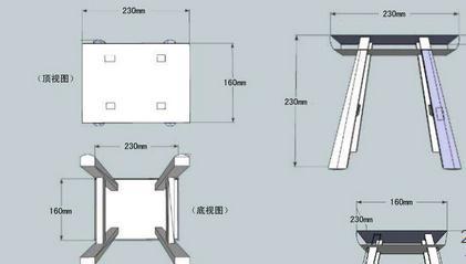 小板凳的一般 制作 步骤是什么?图片