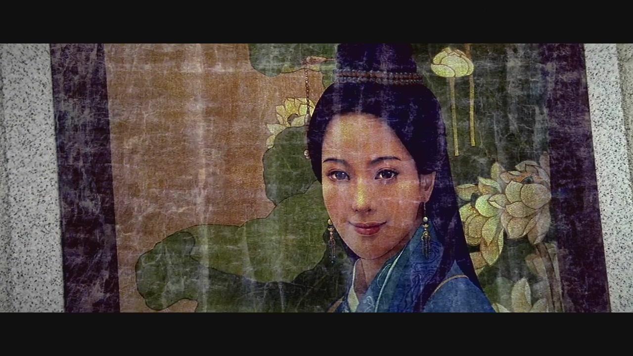求成龙版神话玉漱公主画像和这个一样的