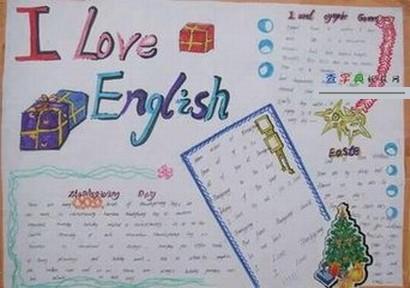 做一张英语手抄报