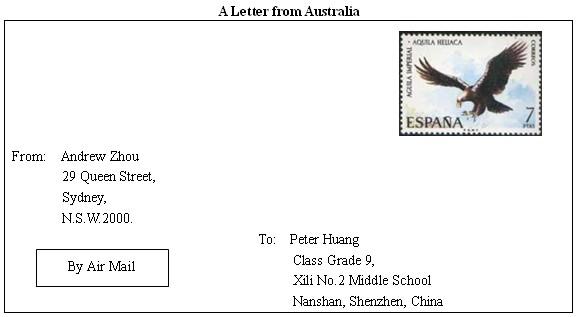 格式信封如何翻译为英语图片