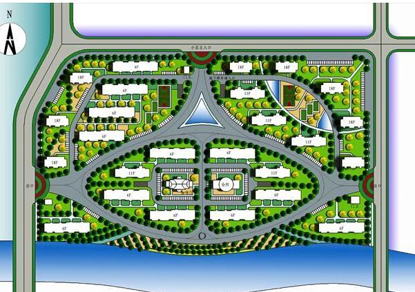 上海市居住区公共服务设施设置规划图片