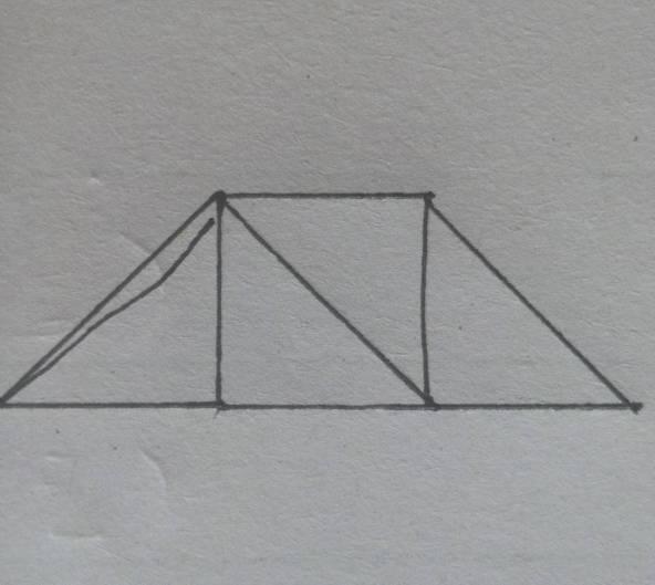 怎么摆成梯形图片