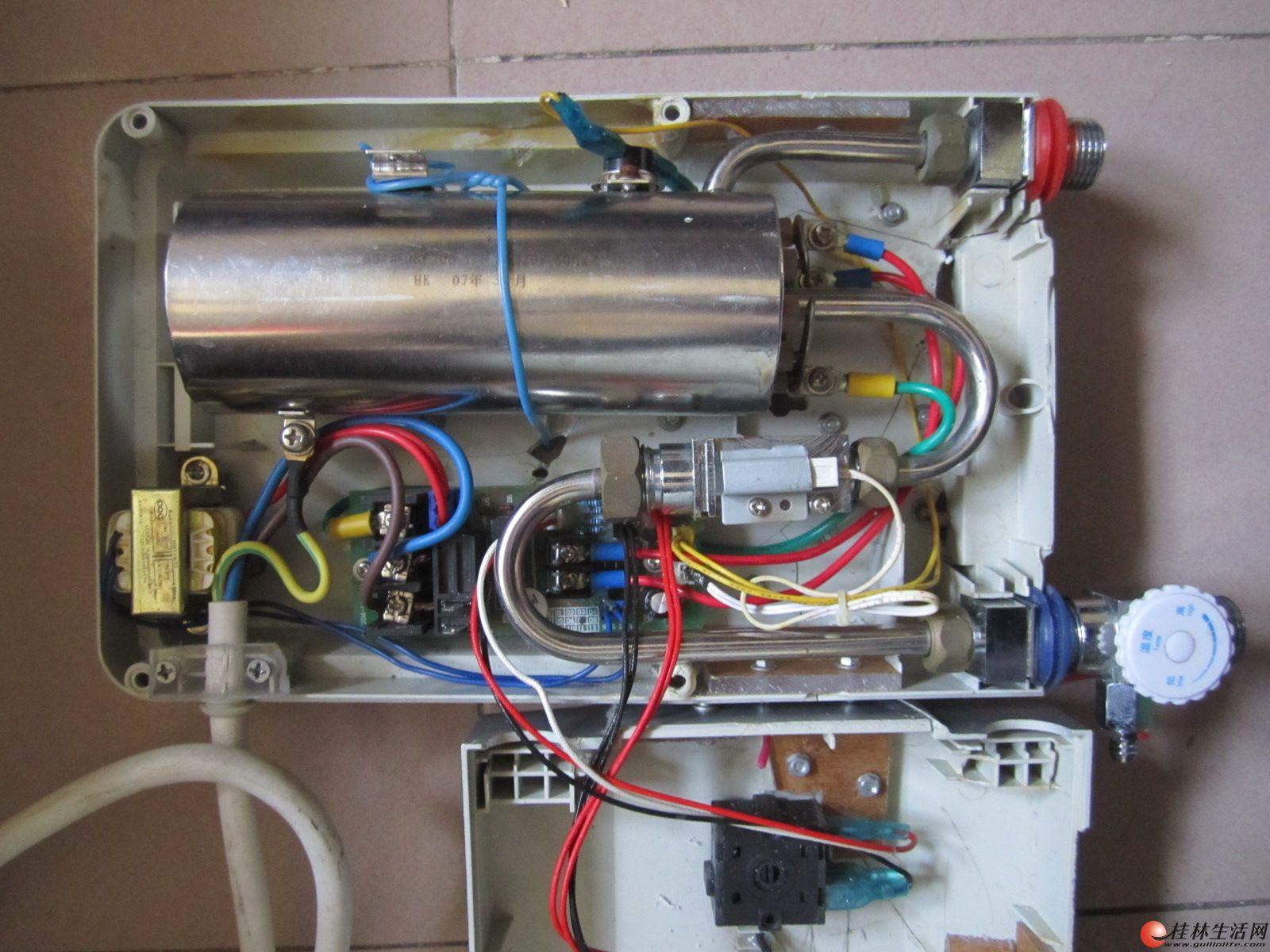 热水器一小时几度电