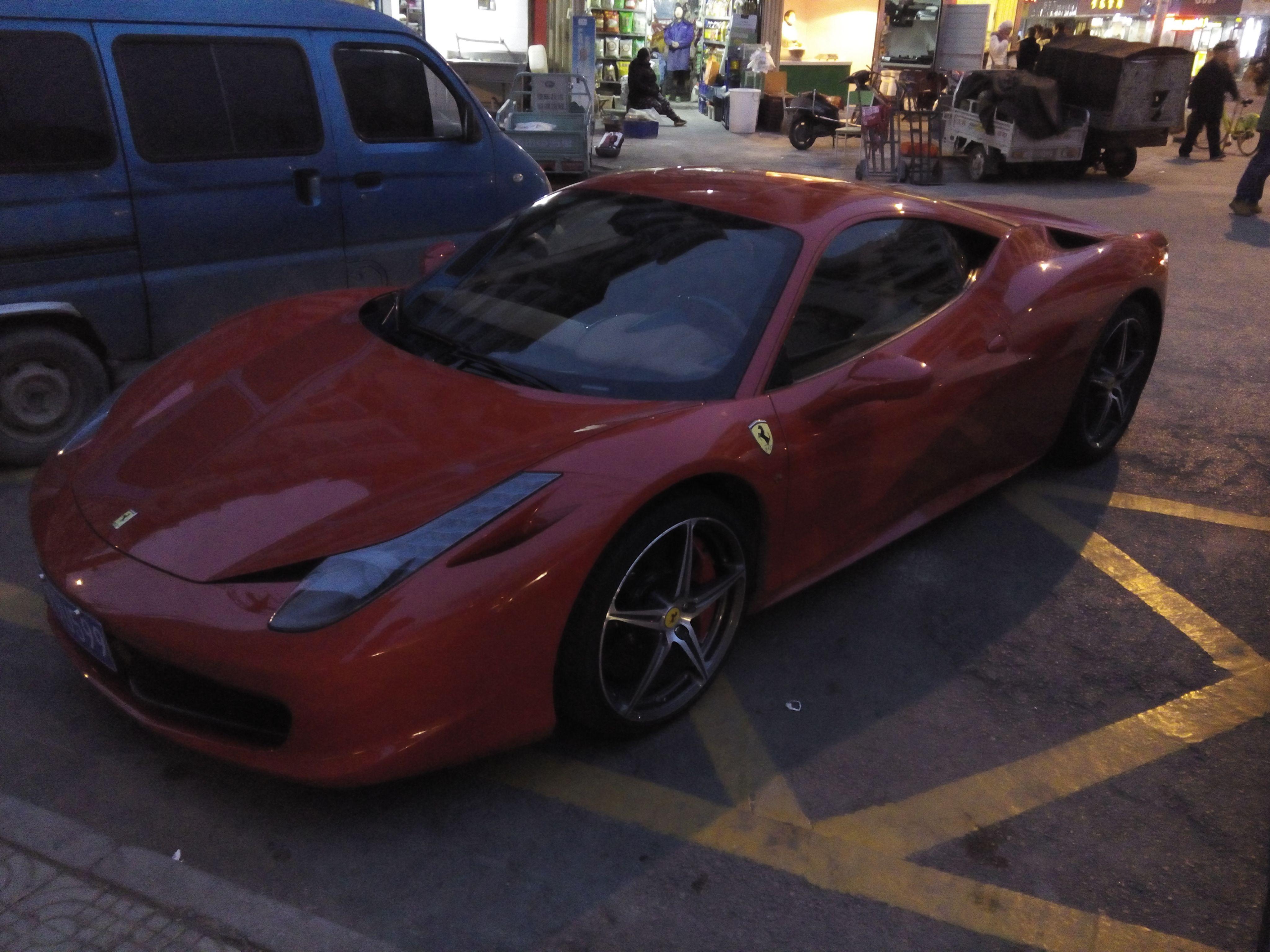法拉利跑车型号 求大神辨析这是法拉利那一款车型高清图片